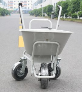 Electric Three Wheels Metal Garden Cart With Two Handles (HG 203)