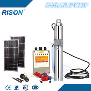 New Solar Powered Water Pump (140W - 1.3m3/hr - 50m) pictures & photos
