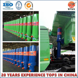 Single Acting Lift Telescopic Hydraulic Cylinders Used for Dump Truck pictures & photos