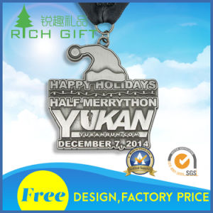 Sales Custom High Quality Engraved Metal Medal pictures & photos