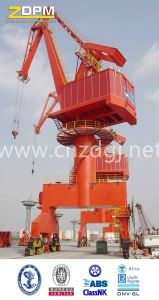 Ship Unloading Marine Port Cranes with Hydraulic Grapple Bucket pictures & photos