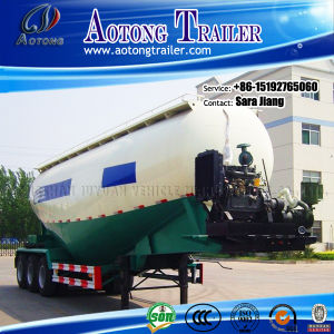 Tri Axles Bulk Cement Powder Semi Trailer for Sale pictures & photos