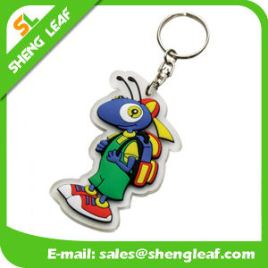 3D Cartoon High Quality Rubber Keychain Product (SLF-KC006) pictures & photos