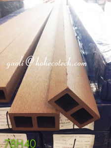 Outdoor Decks Bio-Fiber PE WPC Hollow Beam pictures & photos