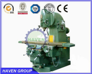 Vertical Knee-Type Milling Machine, Universal Rotary Head Milling Machine pictures & photos