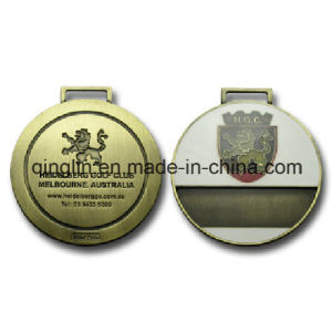 Custom Royal Golf Club Medals with Exquisite Logo (QL-JP-0012) pictures & photos