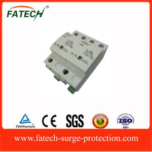 China Supplier New Product 50ka Gap Spark Surge Protection Device SPD with Remote Control Contact pictures & photos