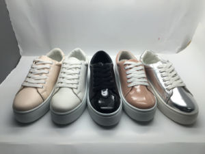 Lady Working Shoes Nurse Shoes Canvas Shoes (14hy1604) pictures & photos