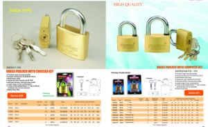 Super Polished Brass Padlock pictures & photos