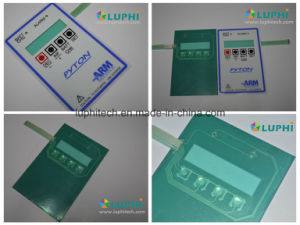 Flexible Circuit Membrane Switch Control Panel with Acrylic Backer pictures & photos