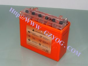 Yog Motorcyclepower Supply Acid Rechargeale Battery 12n7a-BS pictures & photos