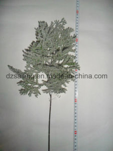 Artificail Leaves Flower for Christmas Winter Decoration (SHL15-F518)