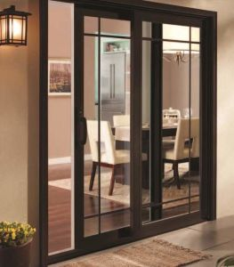 Modern Balcony Low-E Glass Aluminum Sliding Screen Door pictures & photos