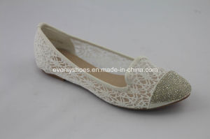 Diamond Printed Ballerina Women Flat Shoes for New Fashion pictures & photos