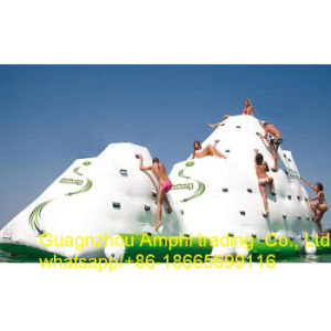 Customized Inflatable Water Game Toy Inflatable Iceberg Slide