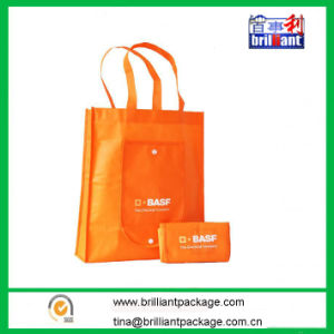 Folding Non Woven Shopping Bag with Handle pictures & photos