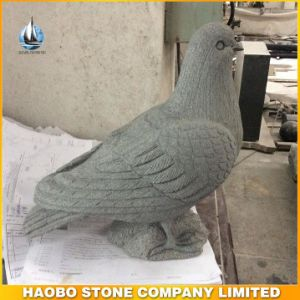 Cheap Granite Dove Bird Carving by Hand pictures & photos