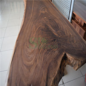 Wooden Table Top Made by American Black Walnut Solid Board pictures & photos