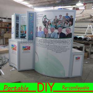 PVC UV Printing Fabric Aluminum Structure Display pictures & photos