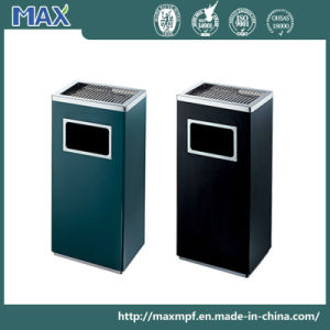 Top-Selling Hotel Garbage Waste Bin with Top Ashtray pictures & photos