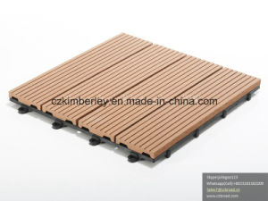Hottest Sale WPC Outdoor DIY Decking pictures & photos