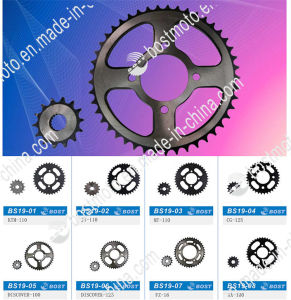 Motorcycle Parts Sprocket for Honda Cg-125 pictures & photos