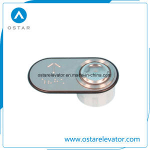 High Quality Push Button for Cargo Lift/Elevator, Stainless Steel pictures & photos