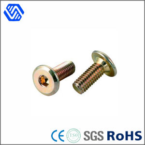 Carbon Steel Hex Socket Color Zinc Plated Round Head Standard Size Quick Release Bolt pictures & photos