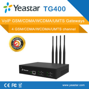 Yeastar Neogate Tg400 with 4 GSM Channles VoIP GSM Gateway pictures & photos