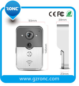 Smart WiFi Video Doorbell with Mobile Phone APP pictures & photos