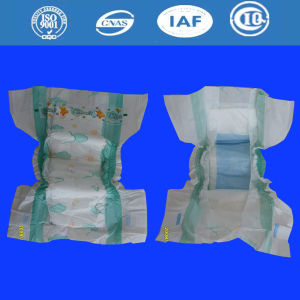 Disposable Good Absorption Breathable Cotton Baby Diapers for All Sizes pictures & photos
