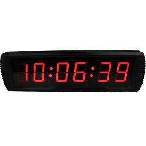 [Ganxin] LED Digital Large Smart Mounted Digital Wall Clock Alarm Clock