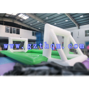 Portable Inflatable Soap Football Field/Inflatable Football Arena/ pictures & photos
