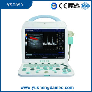 Ce Medical Equipment Digital Diagnosis Color Doppler Portable Ultrasound Scanner pictures & photos