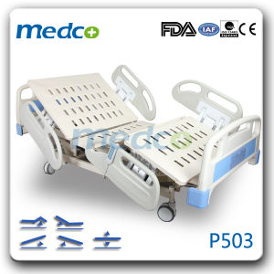 Made in China Five Function Electric Medical Nurse Bed pictures & photos
