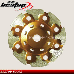 100mm 4 Inch T Segmented Cup Wheel for Concrete Polishing pictures & photos