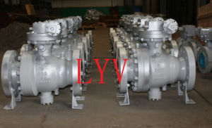 Casting Top Entry Ss CS API Ball Valve pictures & photos