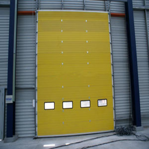 Automatic Garage Doors and Industrial Sectional Garage Door (HF-002) pictures & photos
