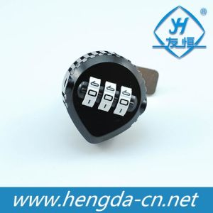 Yh1213 Keyless 3 Code Number Combination Cam Lock for Mailbox pictures & photos