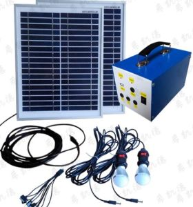 30W off-Grid Solar Energy System for Lighting