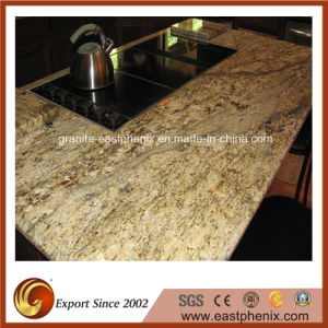 High Quality Yellow River Granite Kitchen Countertops pictures & photos