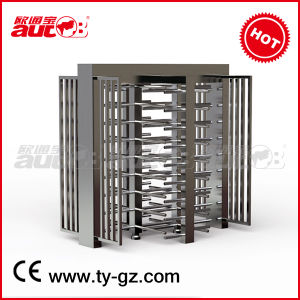 CE Approved Double Full Height Turnstile Gate (A-TF206+)
