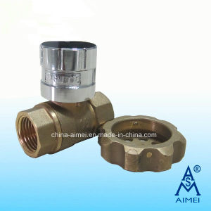 Magnetic Lockable Brass Ball Valve (Fv-01) pictures & photos