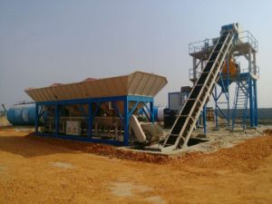 Mobile Concrete Mixing Plant for Sale pictures & photos
