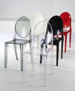 Round Back Plastic Chair for Event Wedding pictures & photos
