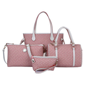 Classic Leather Handbag Set 4PCS Ladies Fashionable Designer Bag (XM0121) pictures & photos
