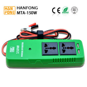 DC to AC Portable Inverter Power Inverter 150watt for Outside (MTA150) pictures & photos