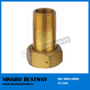 "1/2""-3/4""China Supplier Brass Water Meter Connector pictures & photos"