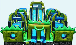 Funny Big Inflatable Slide with 0.9mm PVC Tarpaulin Rentals pictures & photos