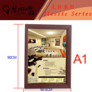Snap Aluminum Picture Frame as Home-Decoration pictures & photos